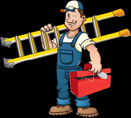 Contractor closed . Handyman clipart home improvement