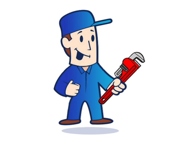 Mr plumber singapore plumbing. Mechanic clipart handyman