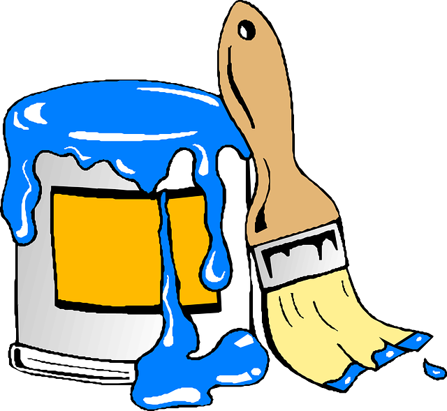 Denver painting services residential. Painter clipart remodel