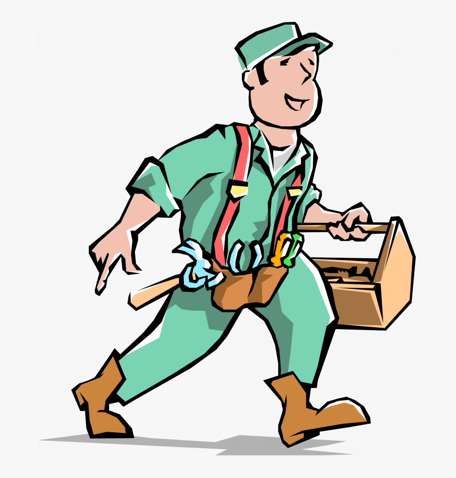 Download endearing free . Handyman clipart tinker