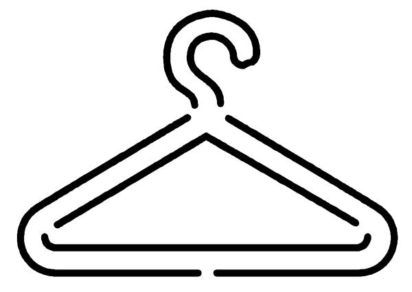 Hanger clipart. Logo yorkshire clip art