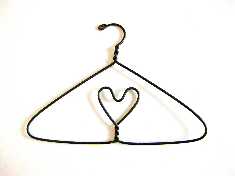 Hanger clipart. Heart