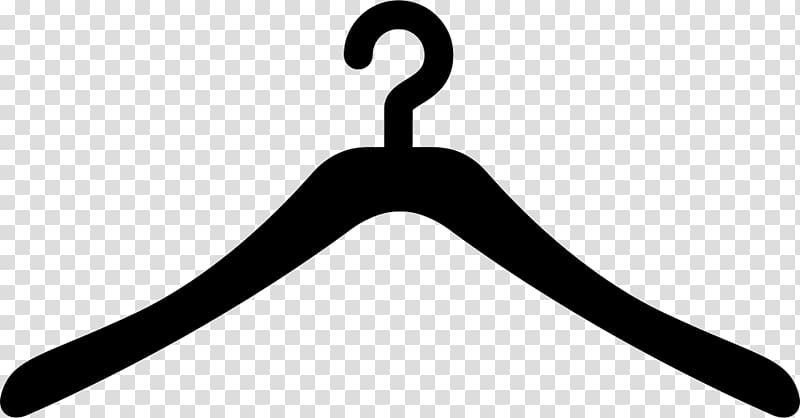 Hanger clipart gambar. Black and white clothes