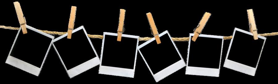 Hanging polaroid frame png. Polaroids by anushka on