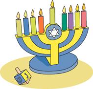 Hanukkah clipart. Clip art pictures graphics