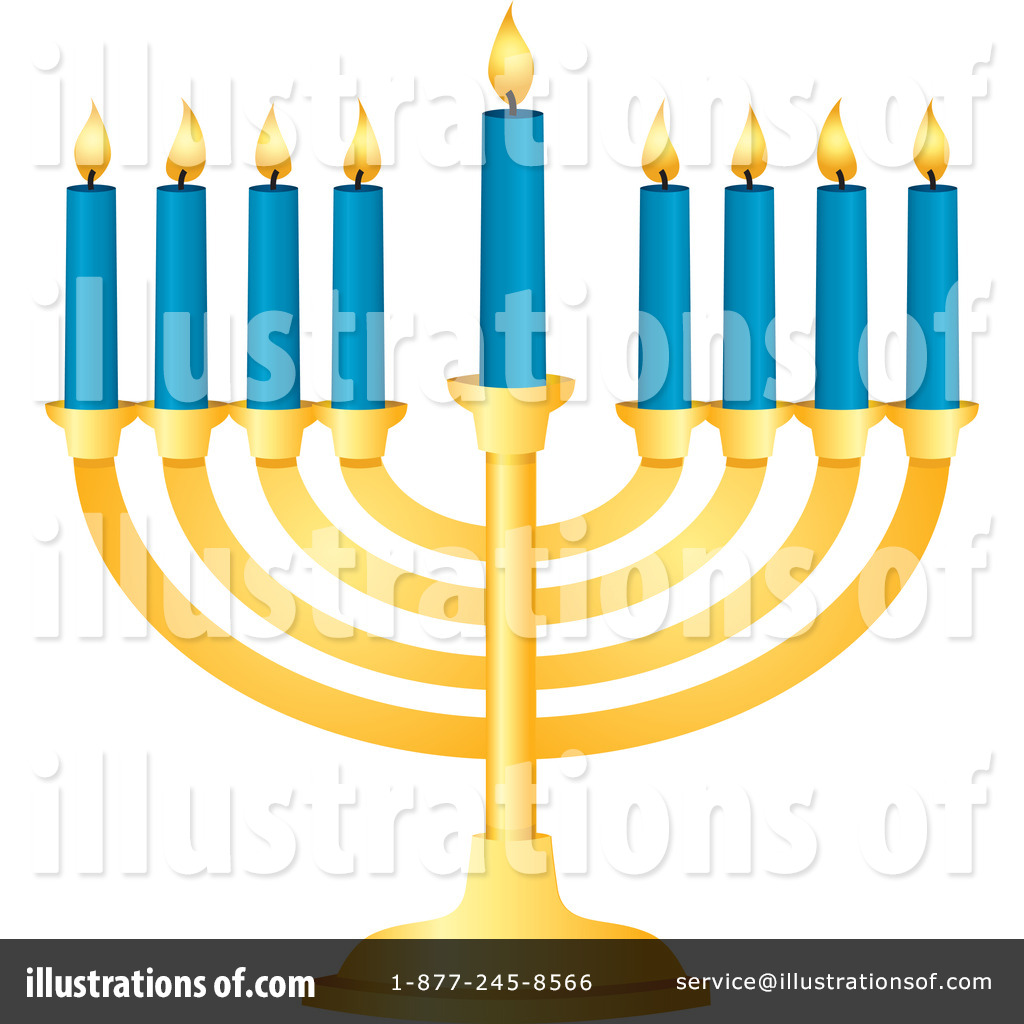 Illustration by amanda kate. Hanukkah clipart