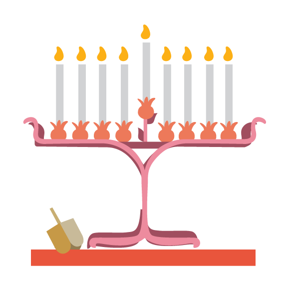 Menorah clipart december holiday. My thoughts on the