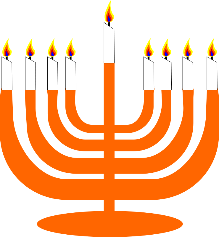 Jewish clip art cliparts. Hanukkah clipart cute
