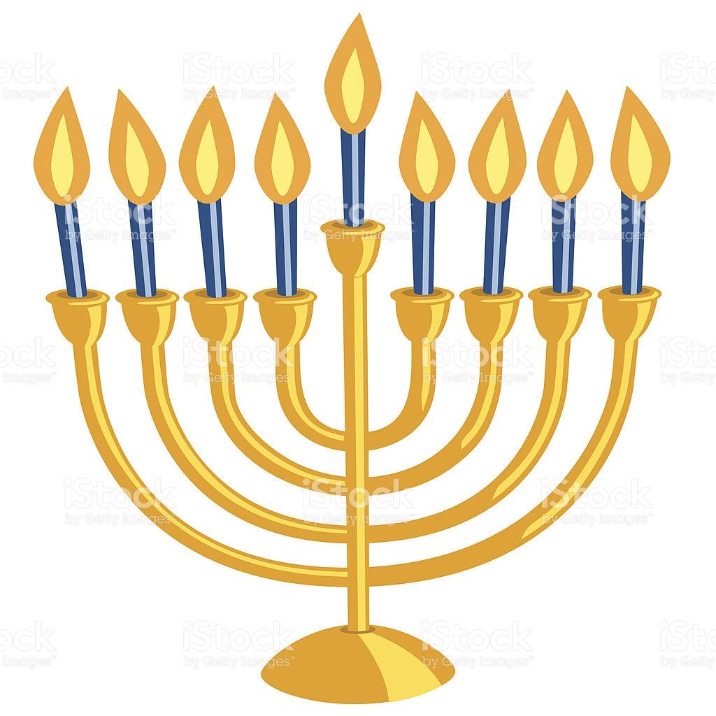 Hanukkah clipart hanukkah candle. Jewish menorah free download