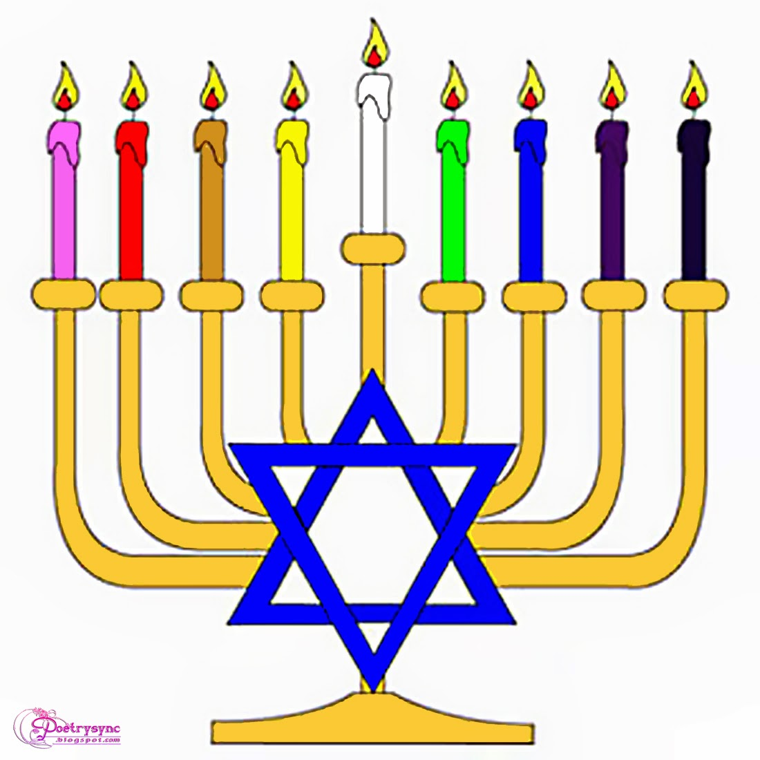 Hanukkah clipart hanukkah candle. Free cliparts download clip