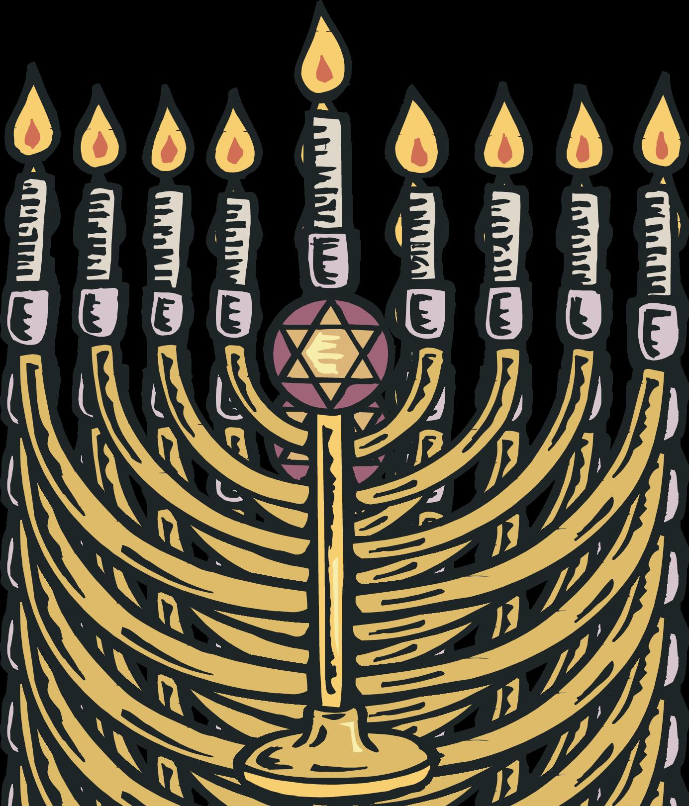 Menorah clipart judaism. Free images of hanukkah