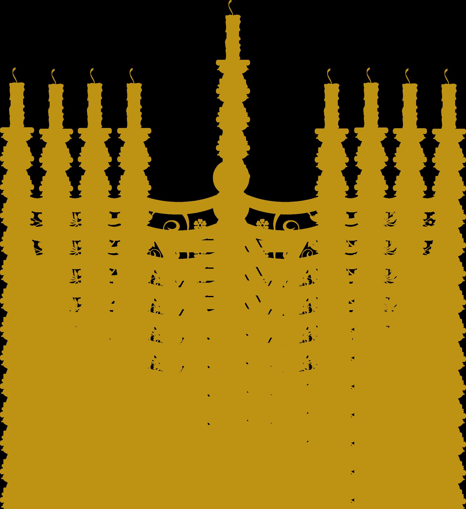 Menorah clipart small. High quality hanukkah cliparts