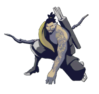 Image spray kneeling wiki. Hanzo overwatch png