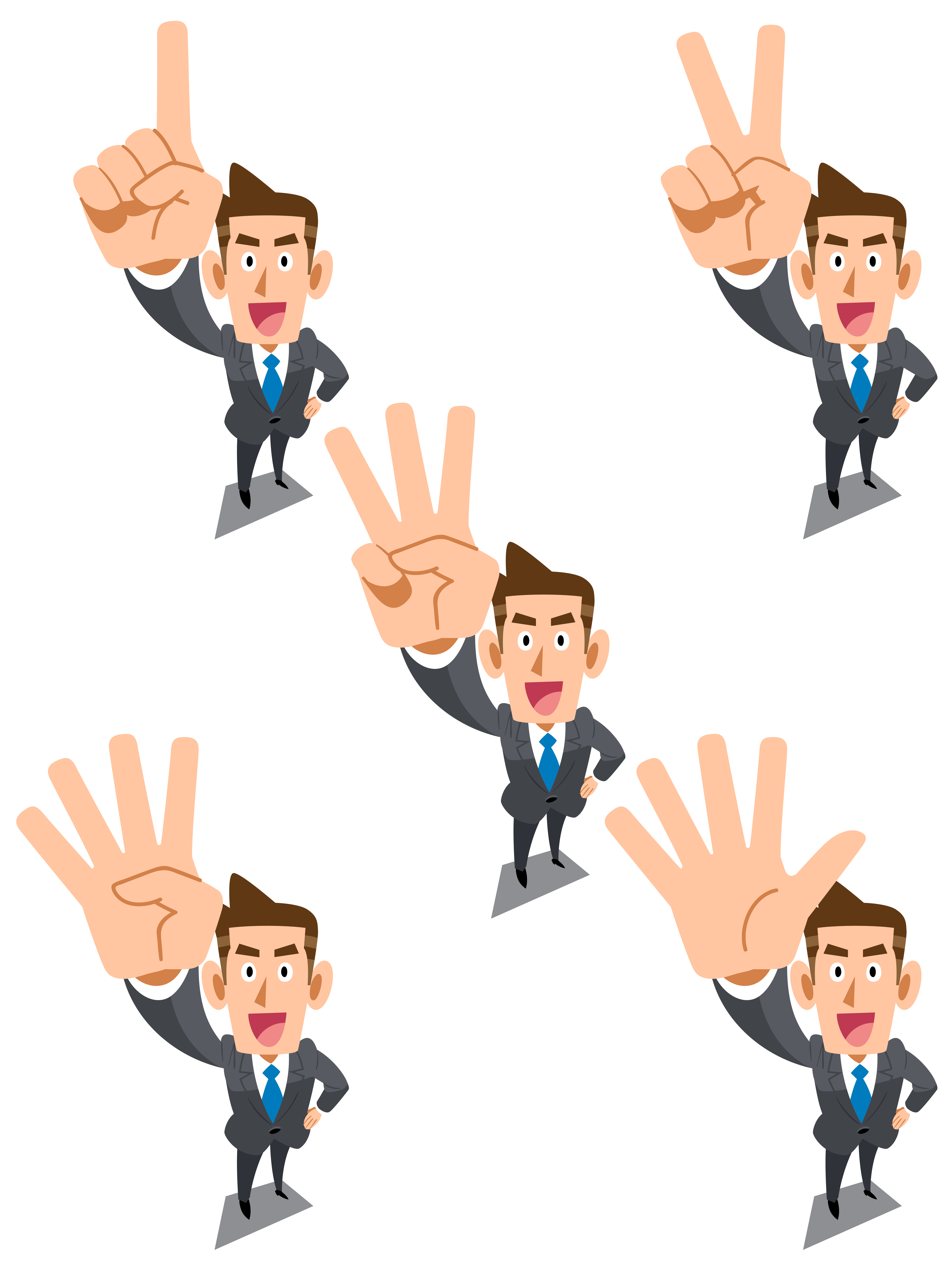 Businessperson cartoon illustration white. Happiness clipart business person