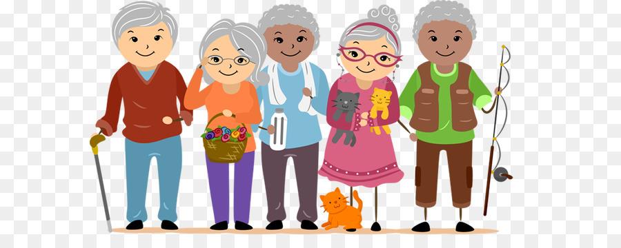 Download happy senior citizens. Happiness clipart citizen