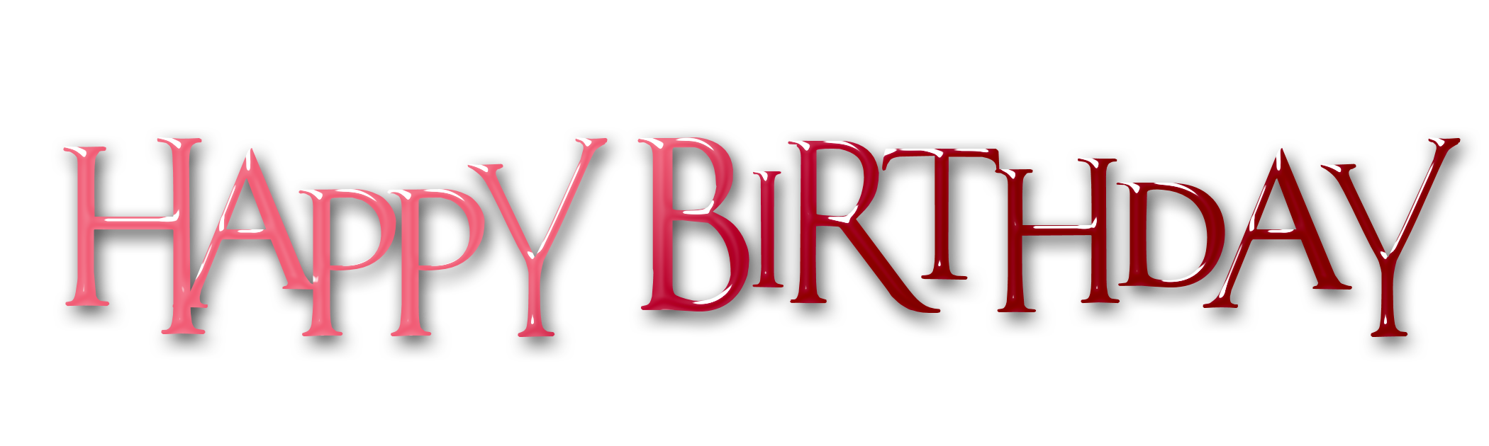 Words clipart happiness. Happy birthday text word