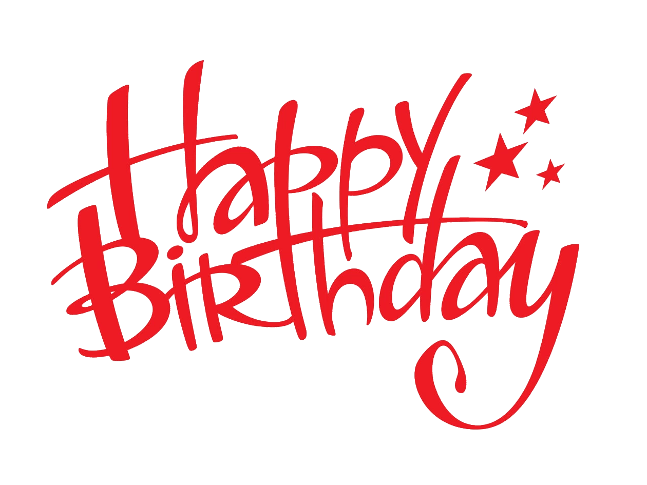 Happy birthday png images. Free download