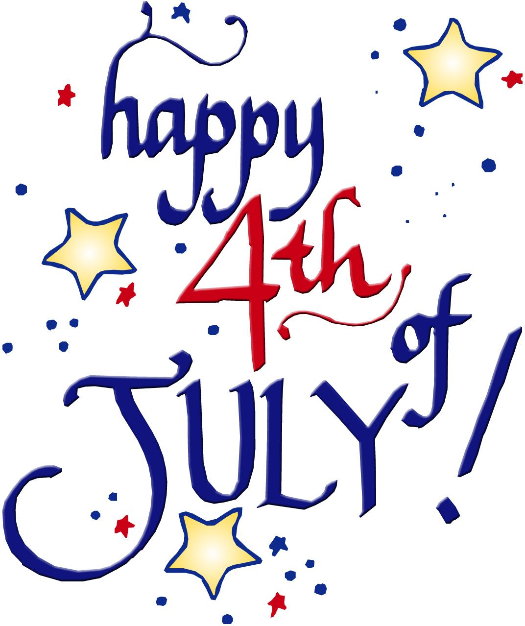 Happy th of other. July clipart july holiday