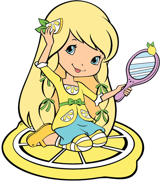 Lemons clipart strawberry. Shortcake berry bitty adventures