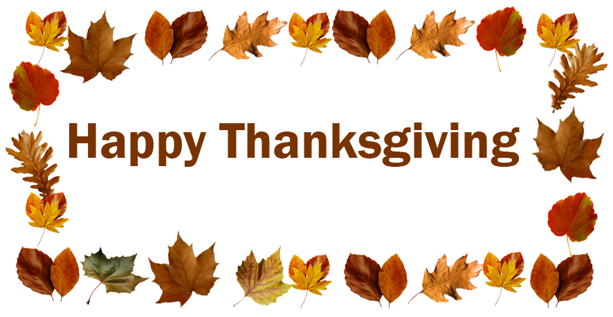 Leaf clipart thanksgiving. Happy greeting with leaves