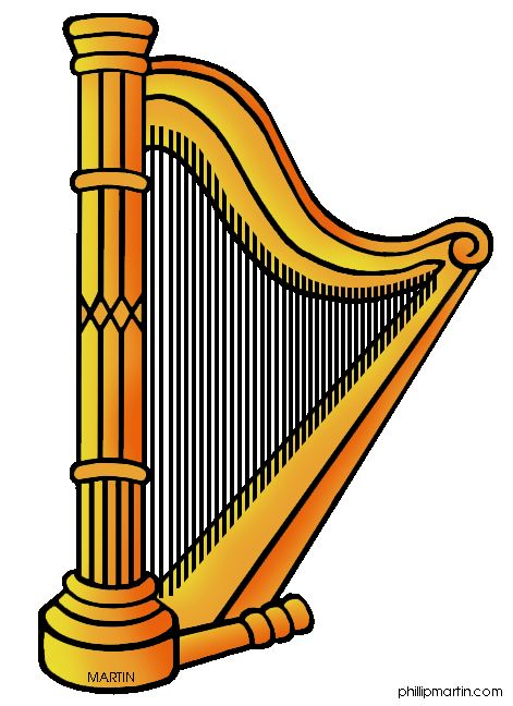 Harp clipart. Station