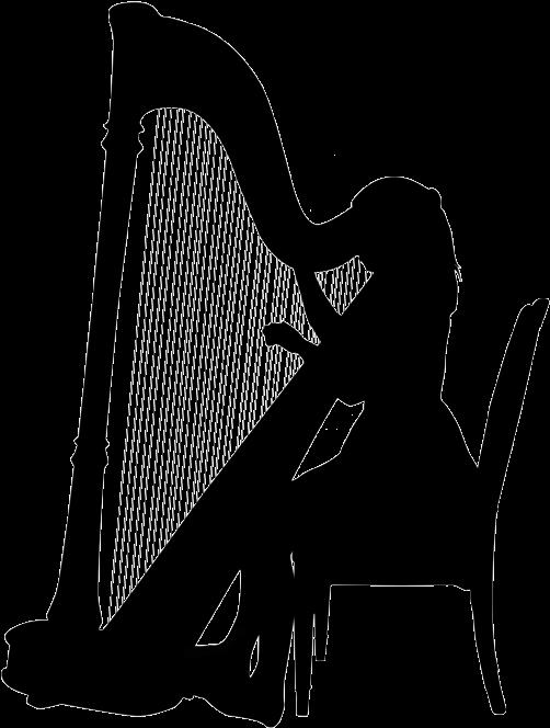 About eleanor dunsdon berkshire. Harp clipart harp player
