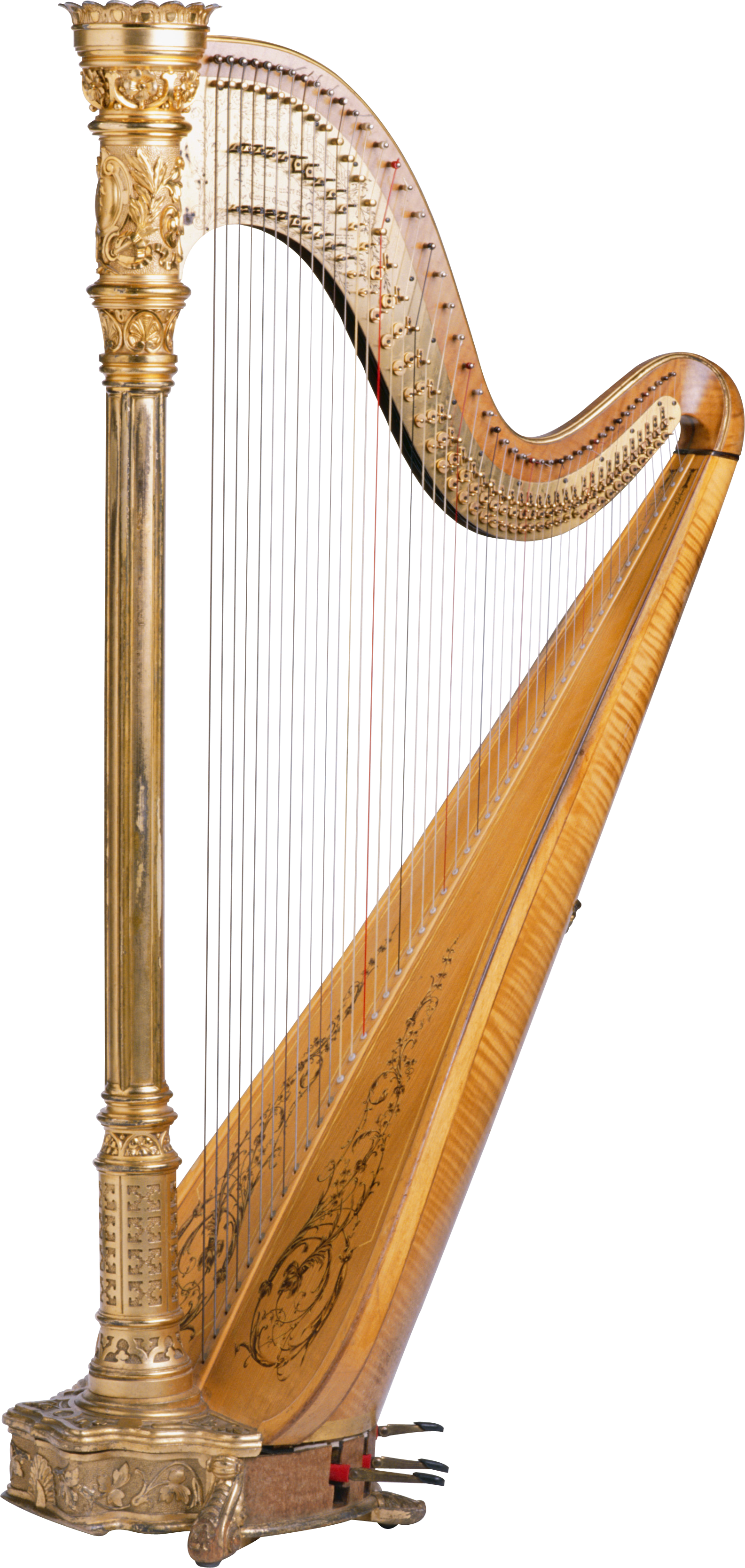Png . Harp clipart harp player