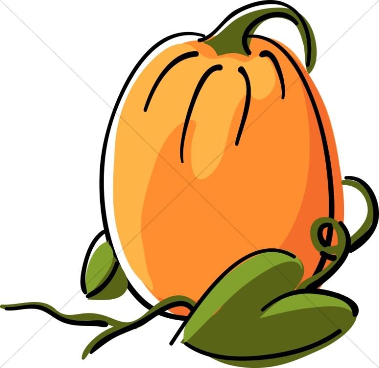 October clipart harvest pumpkin. Cute day