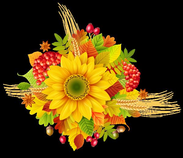 Harvest clipart decoration. Autumn decor png picture