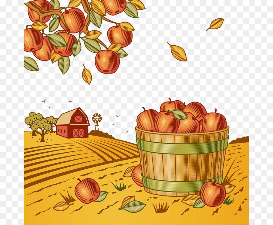 Harvest clipart natural food, Harvest natural food ...