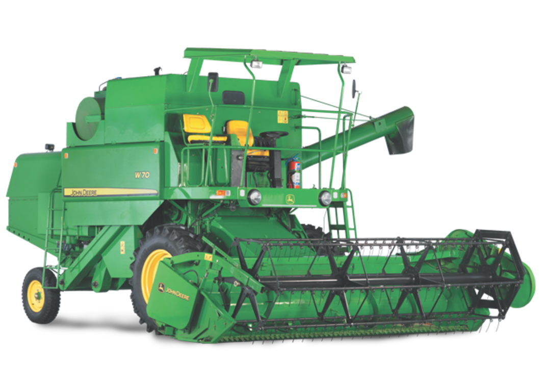 Wheat clipart rice harvester. W combine grain harvesting