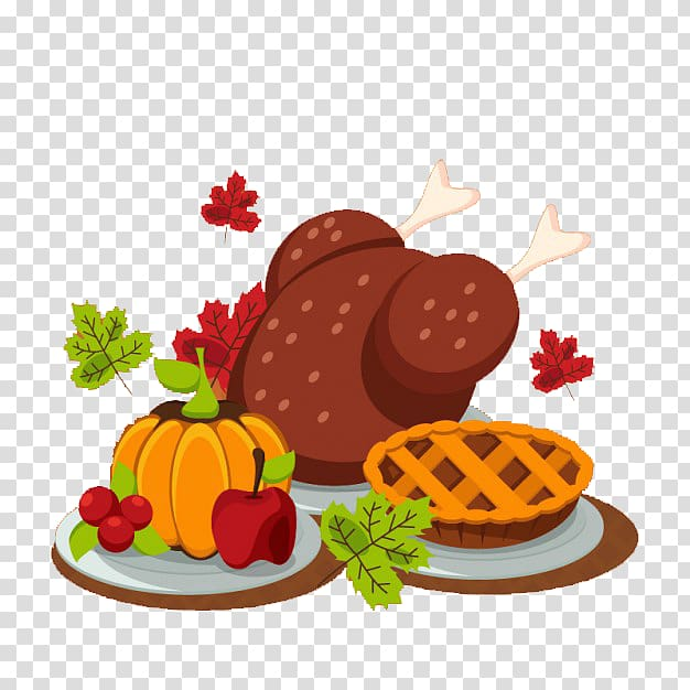 Turkey birthday cake food. Harvest clipart thanksgiving dinner plate