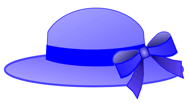 Hat clipart. Free beach