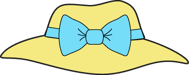 Clipart hat. Clip art images yellow