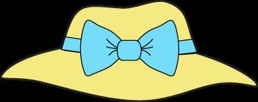 Hat clipart. Clip art images yellow