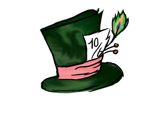 Hat clipart general. Mad hatters by h