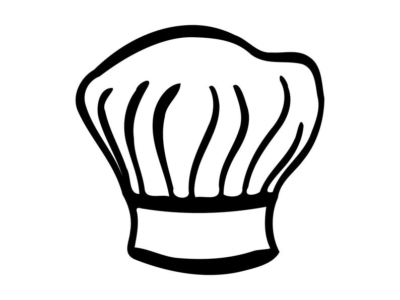 Hat clipart kitchen. Chefs svg cooks cook