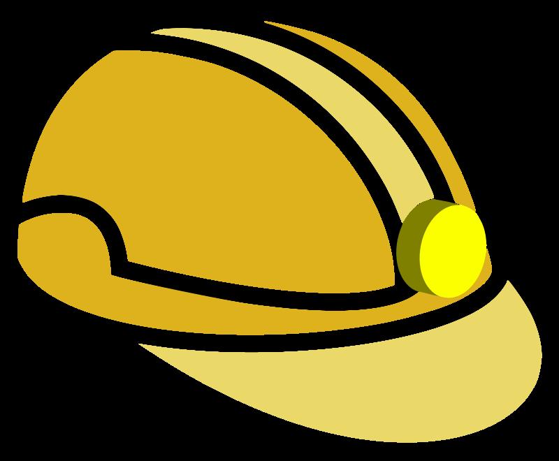 Helmet mining mine medium. Hat clipart miner