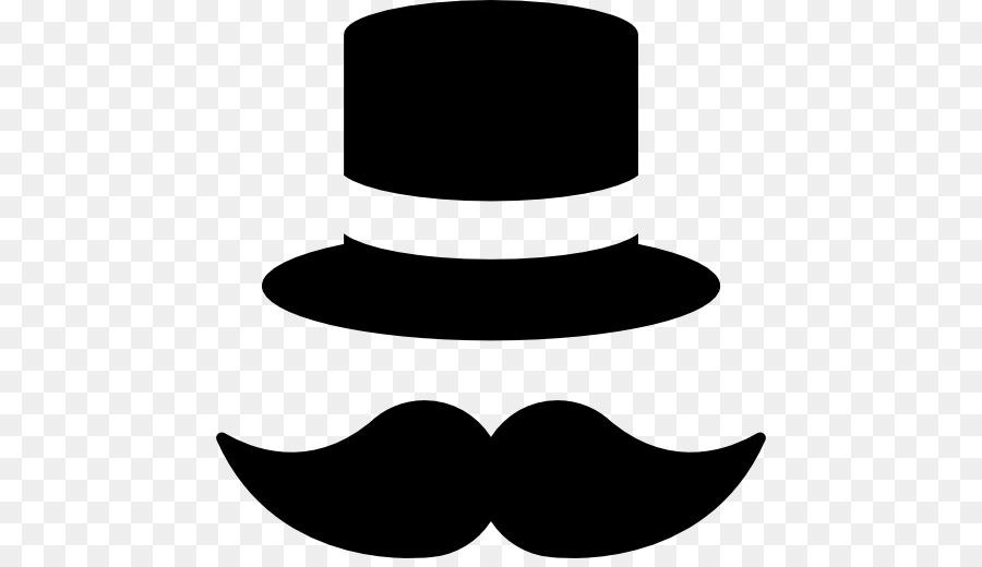 Moustache clipart top hat. Cartoon fashion