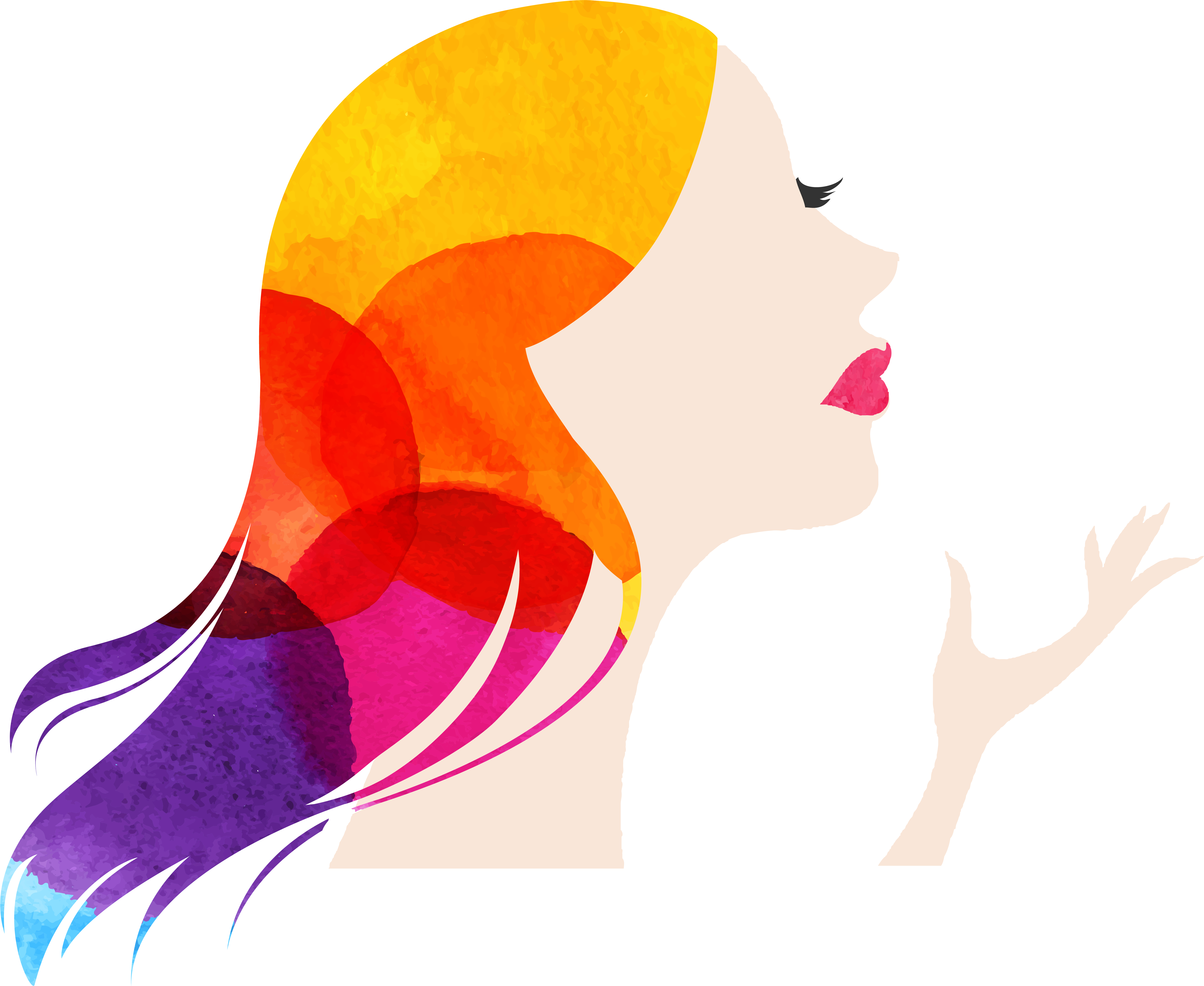 Silhouette at getdrawings com. Painting clipart woman painting