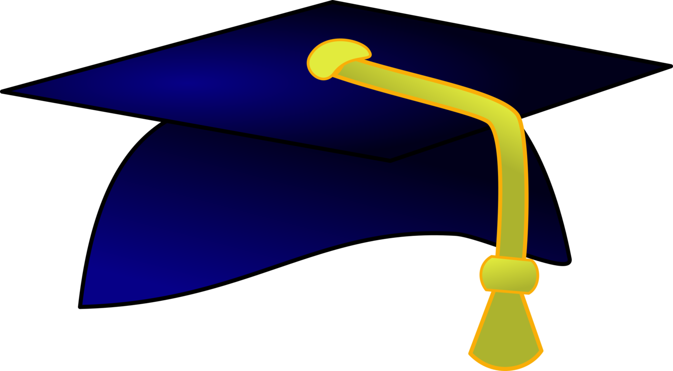 Hat clipart professor. Mortarboard angle symbol png