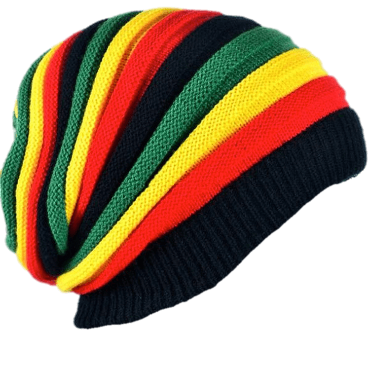 Rasta sticker jamaican reggaefreetoedit. Hat clipart reggae