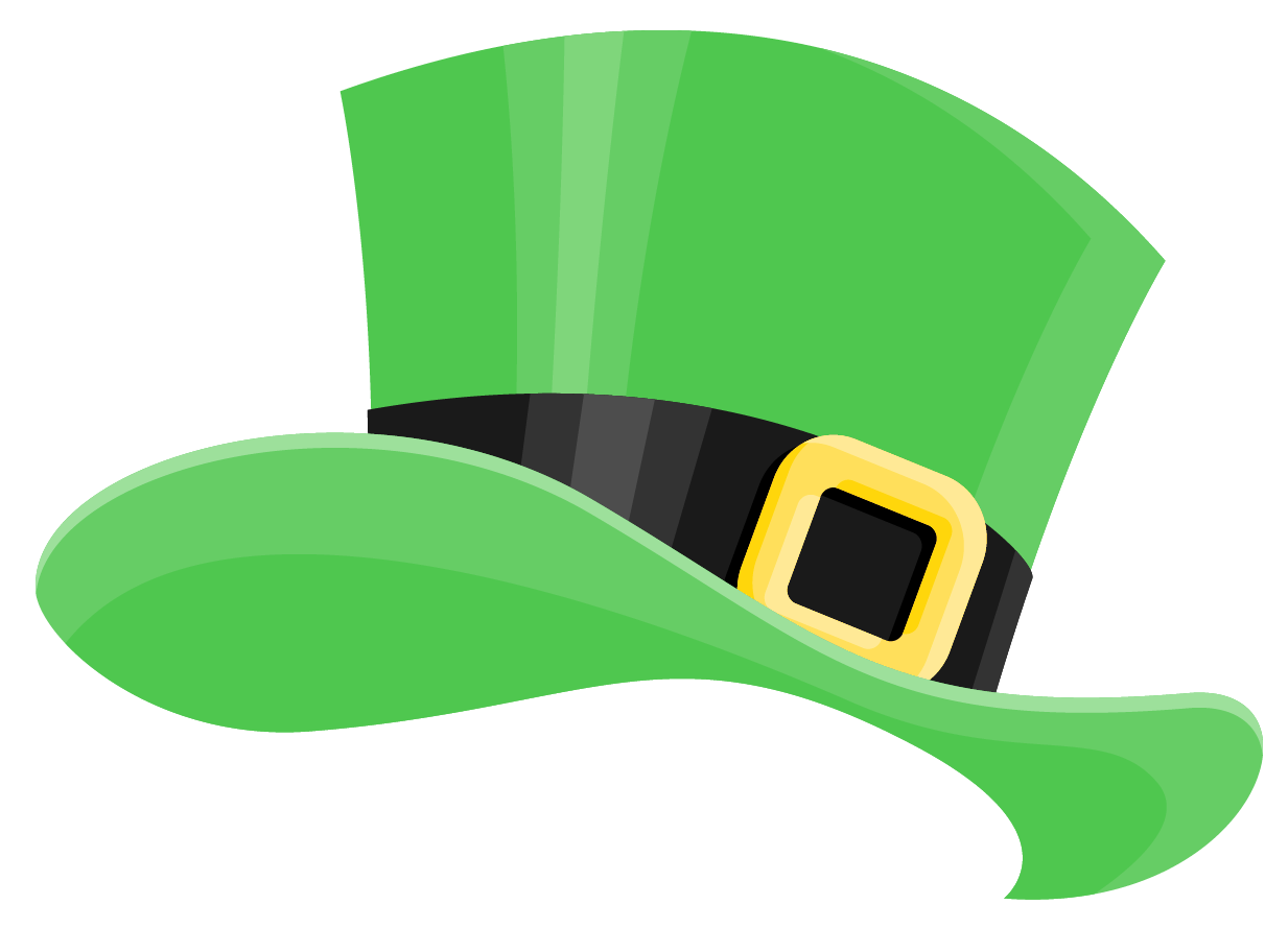Patrick png picture gallery. Hat clipart st patrick's day