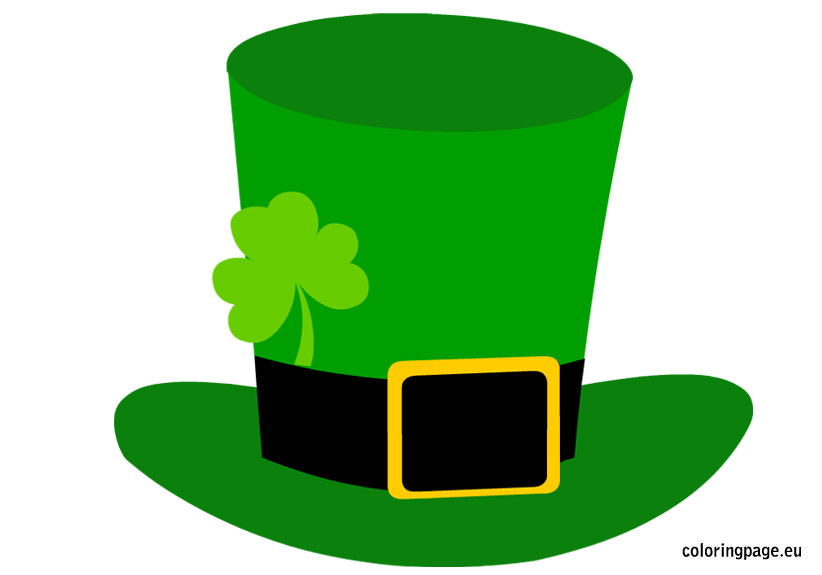 Hat clipart st patrick's day. Patricks free download best