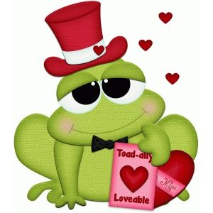 Hats clipart valentine. Silhouette design store frog