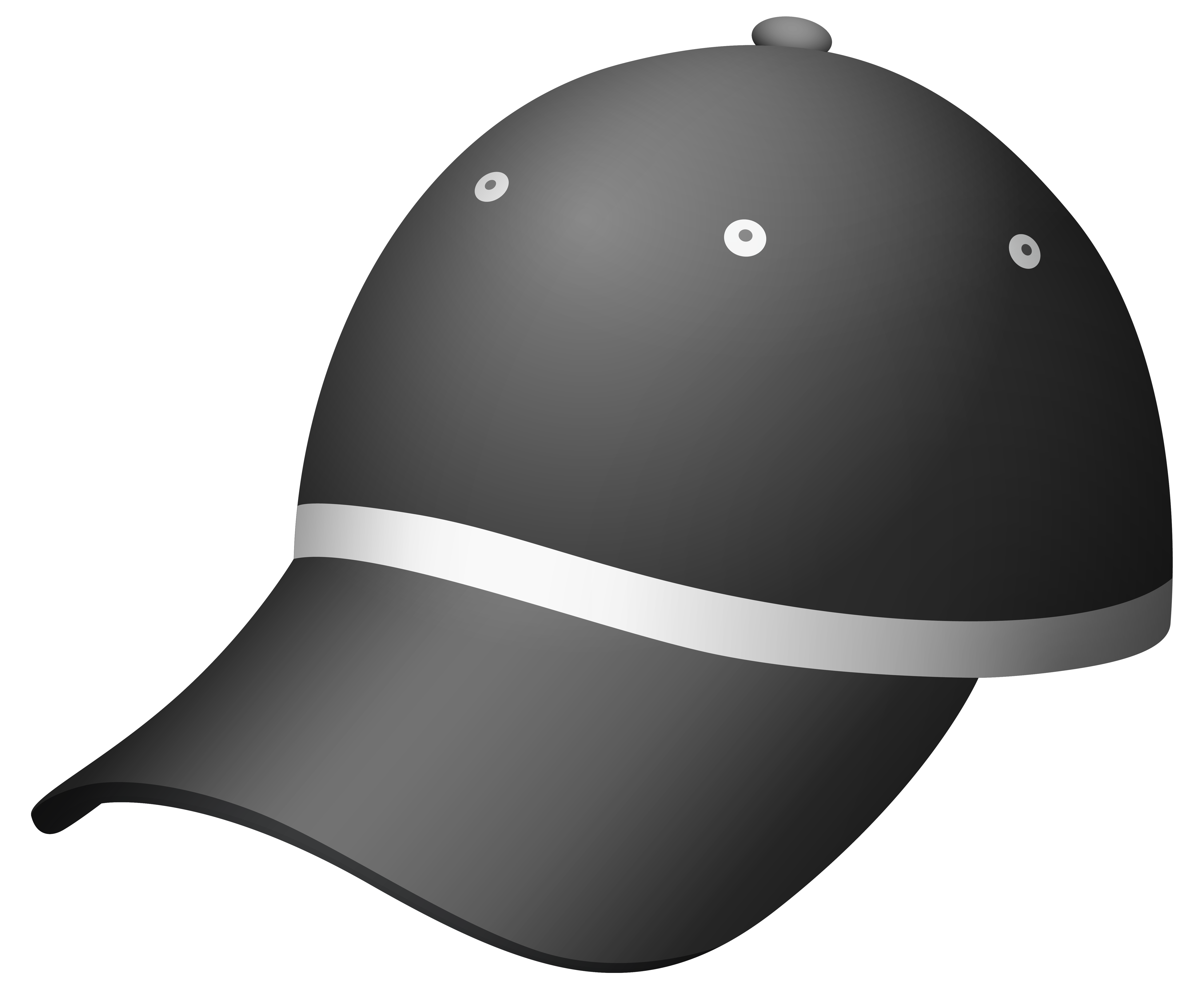 Dark gray cap png. Hats clipart bakery