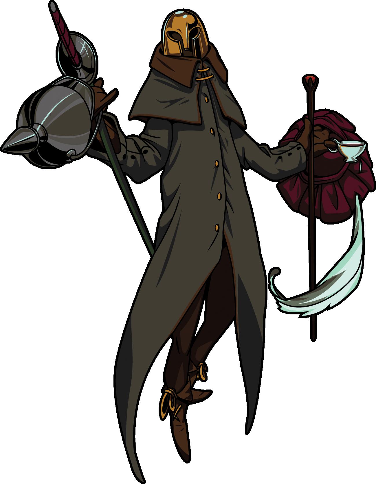 Mr shovel knight wiki. Maid clipart hat