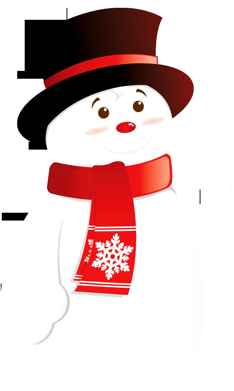 snowman clipart basic