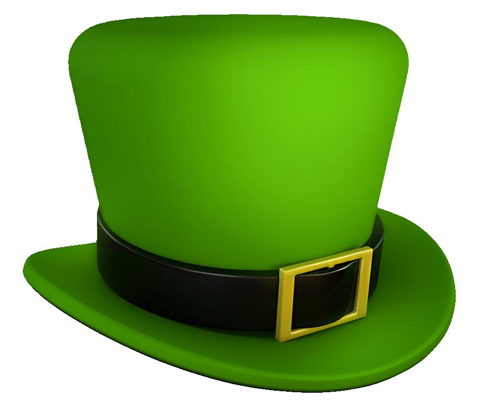 Saint patricks green leprechaun. Hats clipart st patrick's day