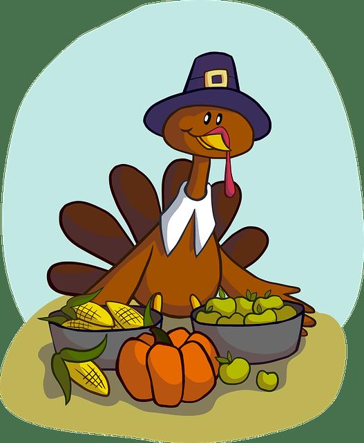 Thanksgiving jokes for kids. Turkeys clipart dancing